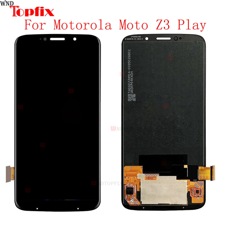 6.01For Motorola Moto Z3 Play LCD Display Touch Screen Digitizer Assembly Replacement For Moto Z3 Play XT1929 XT-1929 LCD6.01For Motorola Moto Z3 Play LCD Display Touch Screen Digitizer Assembly Replacement For Moto Z3 Play XT1929 XT-1929 LCD