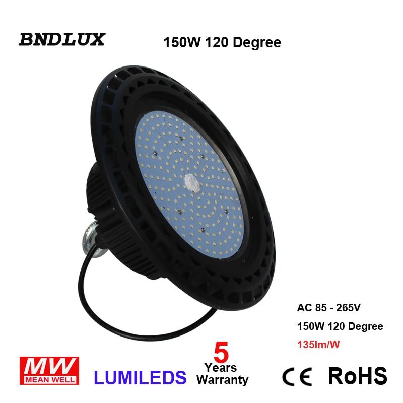 LED UFO High Bay Ceiling Light 100W 6000K Daylight Retrofit 400W MH/HID 120D