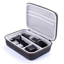 2019 הכי חדש קשיח נסיעות תיבת EVA כיסוי תיק מקרה עבור פיליפס Norelco Multigroom סדרת 3000/5000/7000 MG3750 MG5750/49 MG7750/49