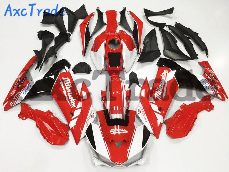 Carénages moto pour Yamaha R25 R3 YZFR3 YZFR25 2015 2016 15 16 Kit de carénage plastique ABS moulage par Injection carrosserie A132