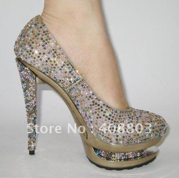 Aliexpress.com : Buy Free Shipping! Autumn Brand Diamond Platform