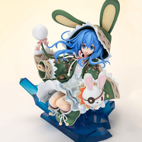 21cm Dating Battle War Date A Live Yoshino Hermit Rabbit sitting position PVC Action Figure Model Toy