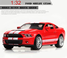 цена на 1/32 Mustang Alloy Car Model Die-cast Vehicles Model Toy Collectible Decor