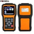 Foxwell NT630 Pro ABS SRS Air Bag Acidente de Redefinição De Dados OBD 2 Universal Automotive Air Bag Do Scanner Ferramenta de Diagnóstico-Código NT630 leitor