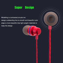 Hot Marca de Fone de ouvido de Metal fone de Ouvido Estéreo de 3.5mm Jack de fone de ouvido Com Cancelamento de Ruído Fones de Ouvido para Nokia Lumia