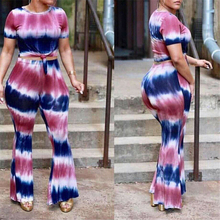 Sexy Womens Two Piece Sets 2019 Striped Short Sleeve Tops Pants Two Piece Set Tracksuit Women Clothing Set Festival Club Outfits patchwork tracksuit women 2019 two piece set casual side striped sexy tops short pants loose outfit set sportwear c124