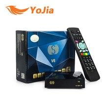 -V6 DE DVB-S2 Récepteur Satellite Numérique avec 2 USB port Soutien Xtream IPTV NOUVELLE Roue TV WEB TV Youtube USB Wifi Biss Clés CCCAMD