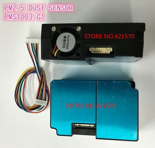 G1 digital PM2.5 laser dust sensor PMS1003 General Particle Concentration Sensor module Super dust dust sensors test PM2.5 PM10
