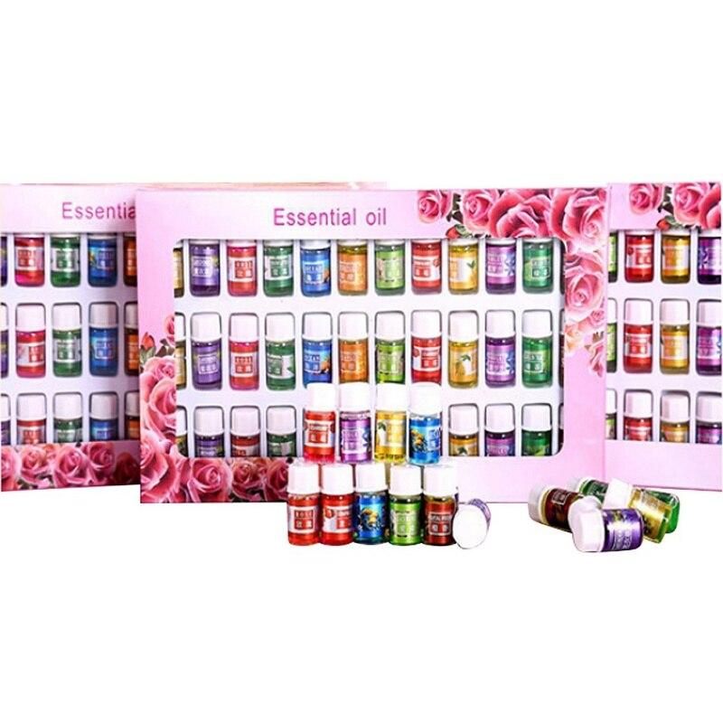 3 ml 36 unids/set aceites esenciales 12 tipo fragancia aceite de aromaterapia Spa Natural Paquete de aceite esencial