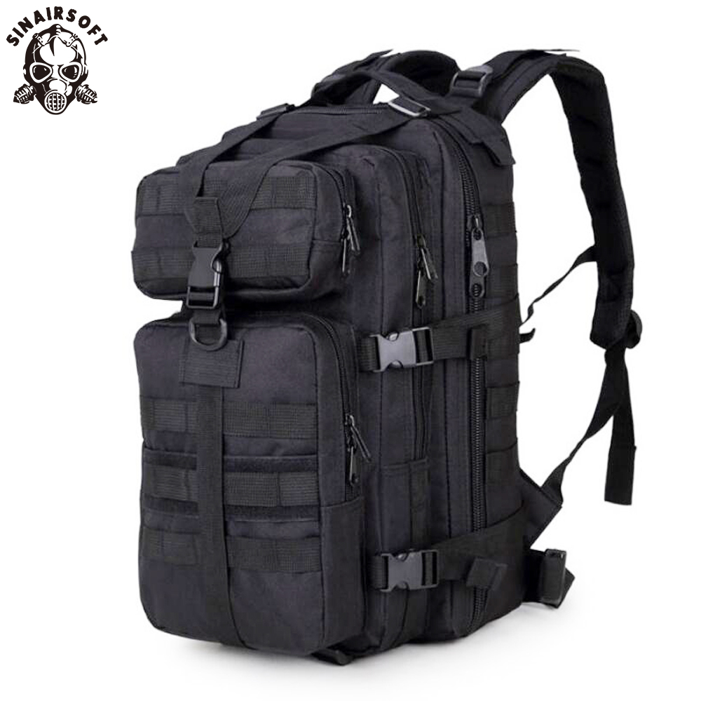 3P Military Bag Army Tactical Outdoor Camping Plecak męski Military Tactical Oxford for Cycling Hiking Sports Climbing Bag 30L