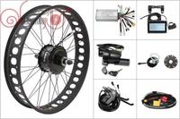 Free Shipping Electric Bicycle Bafang Motor 48V 750W Freehub Cassette Fat Tire Rear Conversion Kits Controller LCD3 175mm 190mm