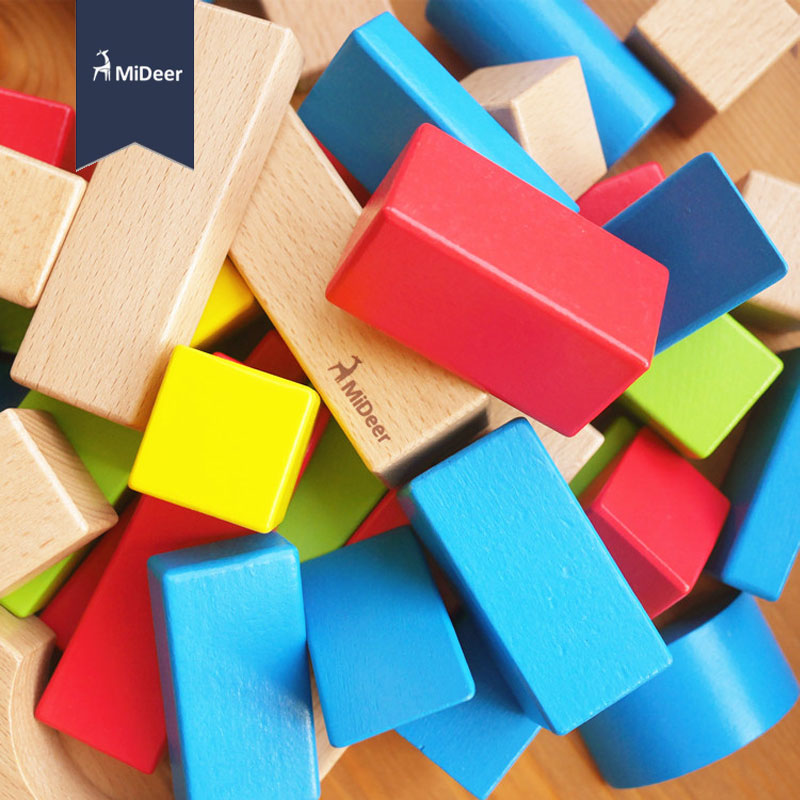 Colorful Wooden Geometry Building Blocks Tetris Game Toys Learning Educational Kid Toy Children Gift 11-352 kids children wooden block toy gift wooden colorful tree marble ball run track game children educational learning preschool toy