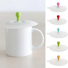 Anti-Dust Silicone Lids Lace For Tea Cup Cover Coffee Caneca Xicara Tea Cup Vasos De Plastico Suction Cup Seal Cap Cover Gifts moomin cartoon mug snorkmaiden snufkin little my sniff the snork stinky mymble caneca coffee cup muumi child gifts