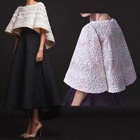 2019 мать невесты платья для женщин с накидкой обертывания роскошный жемчуг бисер черный Асимметричная Свадебная вечеринка ГОСТ