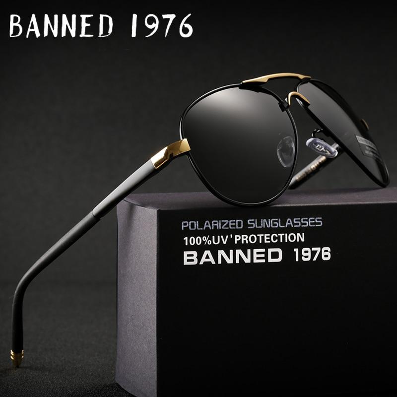 2018 HD polarizados UV 400 hombres gafas de sol de marca nuevo hombre genial conducción gafas de sol de conducción gafas de sol tonos con caja