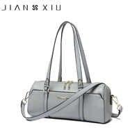 JIANXIU marque sac à main en cuir véritable sacs à main de luxe femmes sacs Designer mode Messenger sacs petit sac à bandoulière deux couleurs