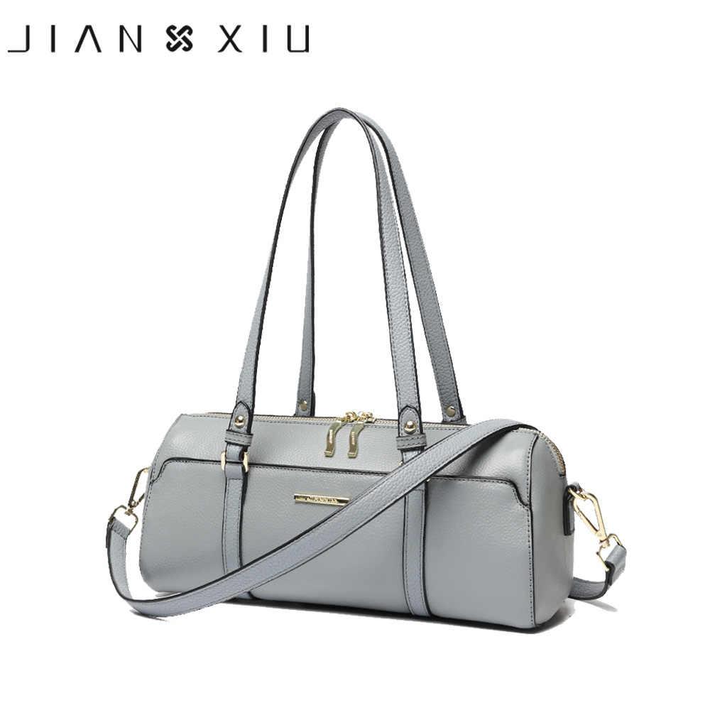 162f0e107ea9 JIANXIU из брендовой натуральной кожи Сумочка Роскошные Сумки Для женщин  сумки модельер Курьерские сумки небольшая сумка