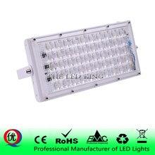 LED كشاف ضوء 50 واط ضوء غامر خارجي مقاوم للماء IP65 الجدار عاكس الإضاءة 220 فولت 240 فولت مصباح الشارع الأضواء