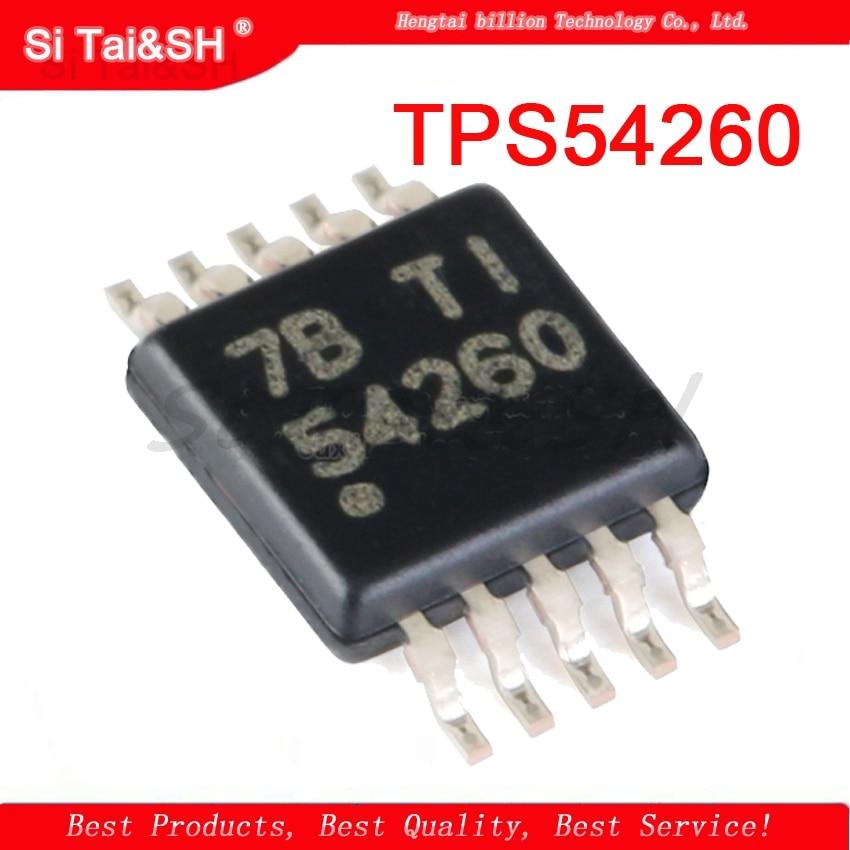 1pcs  54260 TPS54260 TPS54260DGQ TPS54260DGQR MSOP-10 3.5-60V 2.5A