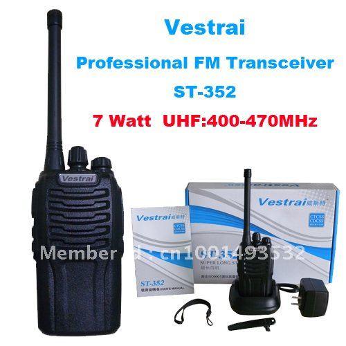 Hot Sale High Power 7 Watt Vestrai ST-352 UHF 400-470MHz Walkie TalkieHot Sale High Power 7 Watt Vestrai ST-352 UHF 400-470MHz Walkie Talkie