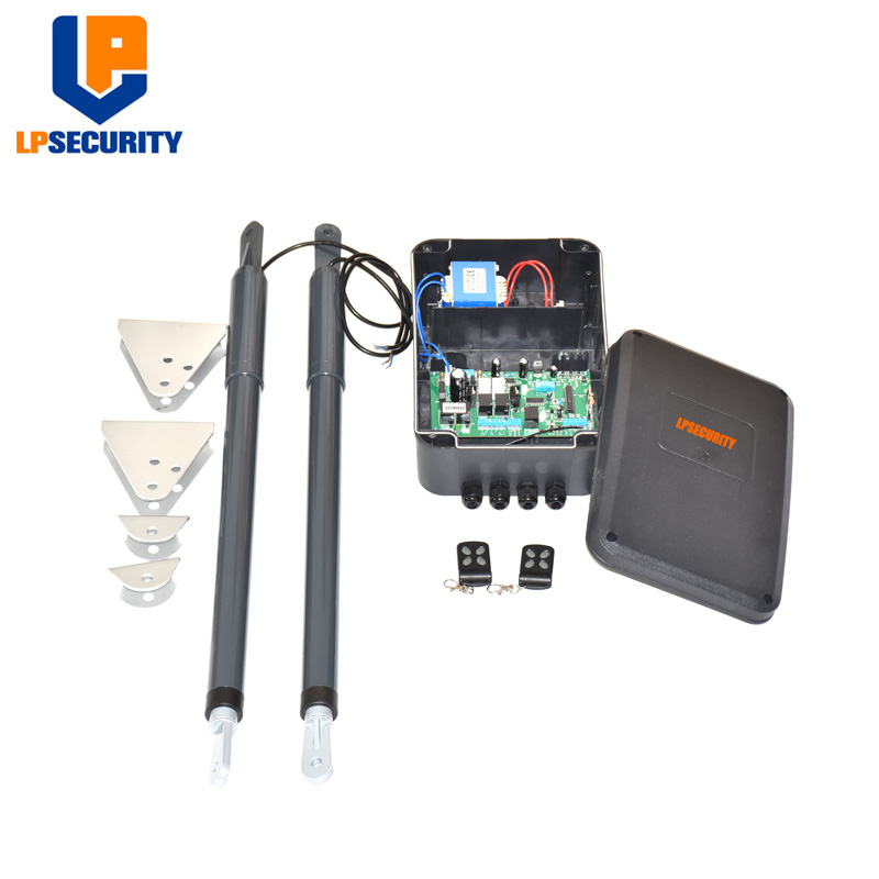 Image 2 - 12VDC 200kg per leaf Swing Gate Opener system Electrical gate motor with optional outdoor fingerprint keypad reader-in Access Control Kits from Security & Protection