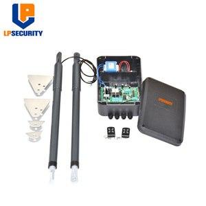 Image 2 - 12VDC 200kg per leaf Swing Gate Opener system Electrical gate motor with optional outdoor fingerprint keypad reader