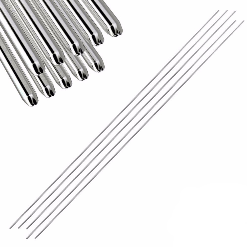 1pcs 50cm Solder Wire Easy Aluminum Welding Rods Low Temperature - No Need Solder Powder Flux Reel Welding Line Lead Free Solder