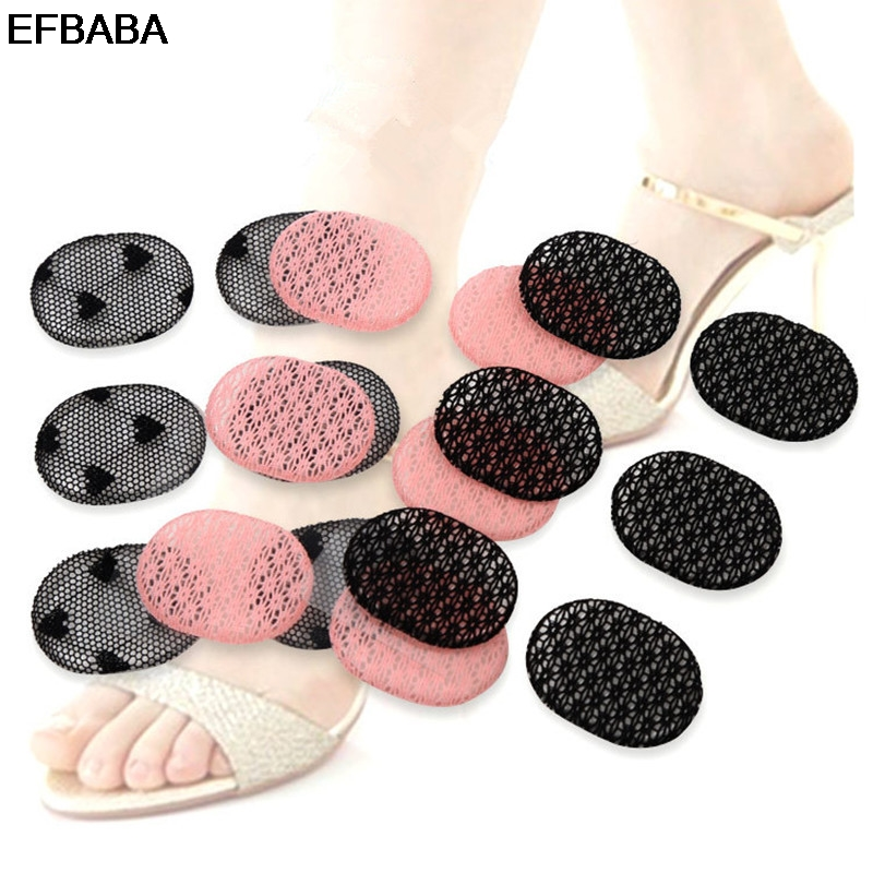 EFBABA Women Shoes Insoles Pads Insert Cushion High Heel Insole No Slip Shoe Stickers Accessoire Chaussure Adjust Code 6pcs/sets