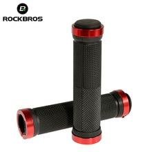 RockBros Non-slip Handlebar Grips Bike MTB Cycling Riding Bike Bicycle Bicycle Ultralight Rubber Lock-on Grips Cycle Bike Parts