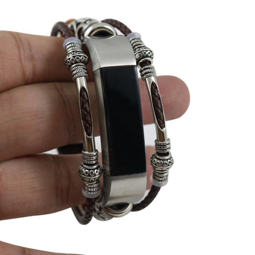 Hohe Qualität Ersatz Leder Armband Band Für Fitbit Alta/Fitbit Alta HR JA31 Drop Shipping