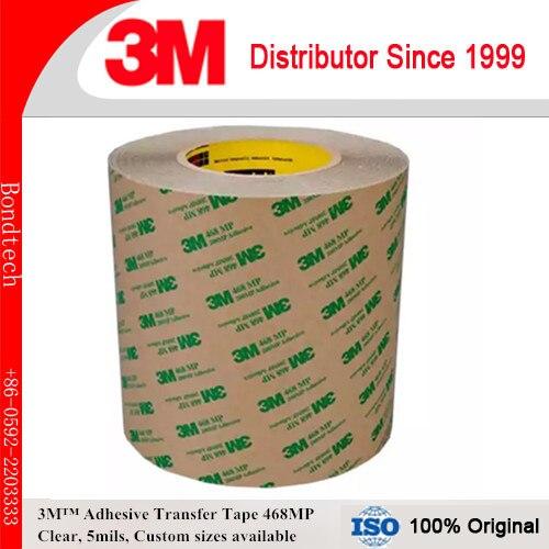 325mm x 55 m paquet de 1 3 M 200MP ruban adhésif de transfert 468MP pour PCB/LED LCD