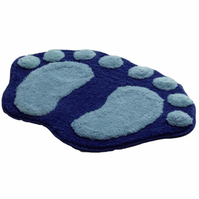 New Fasion Hot Bathroom Accessories Soft Plush Feet Memory Foam Bath  Bathroom Bedroom Floor Shower Mat