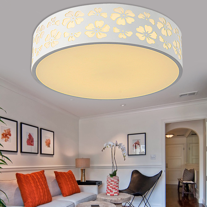 A1 Ceiling Light bedroom lamp romantic warm children room LED small dome light circular creative remote control bedroom lightZCL