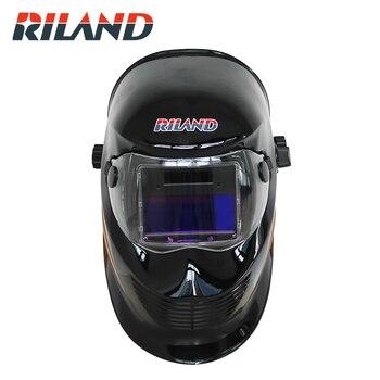 RILAND Feather Solar Auto Darkening TIG MMA ARC Welding Mask/Helmet/Welder Cap/Eyes Mask
