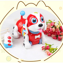 Kid Robot Dog Toy Electronic Remote Control Interactive Singing Dancing for Children Gifts