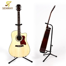 1pcs Adjustable Guitarra Holder 550x500x250mm Guitar Stand with Folding Legs For Guitar Bass Player Guitar Parts & Accessories