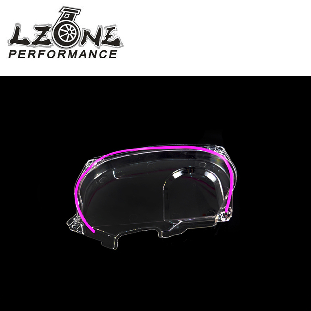 US $10 4 15% OFF|LZONE Clear Cam Gear Timing Belt Cover Pulley For  Mitsubishi Lancer Evolution EVO 9 IX Mivec 4G63 JR6334 on Aliexpress com |  Alibaba