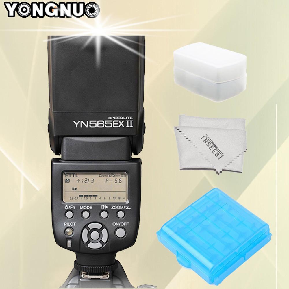 YONGNUO YN-565EX II YN565EX II Wireless TTL Flash Speedlite For Canon 6d 60d 5d mark iii 550d 1100d 650d 600d 700d 7d Cameras yn e3 rt ttl radio trigger speedlite transmitter as st e3 rt for canon 600ex rt new arrival