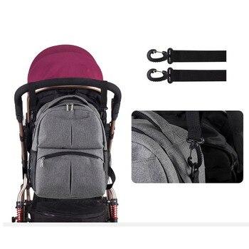 Модная детская сумка для подгузников, рюкзак для коляски, большая вместительность, Bolsa Maternidade, хлопковые льняные детские сумки для мамы, папы...