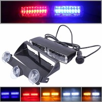 48W Windshield Led Strobe Light S2 Viper Car Flash Signal Emergency Fireman Police Beacon Warning