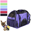 Llegada de nuevo promoción moda Cat Dog Pet Carrier Comfort Carrier Dog Pet Travel Soft Tote Wholesale Retail envío gratis PS5661