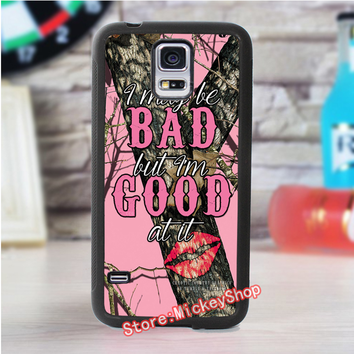 pink Realtree Camo 3 fashion cover case for samsung galaxy s3 s4 s5 s6 s7 s6 edge s7 edge note 3 note 4 note 5 #ET4