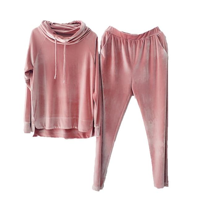 Velvet Pajamas Set Kids...