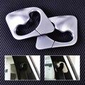 2 Unids plástico ABS Cromado Decoración Del Cinturón de Seguridad Del Coche B Pilar Ajuste de la cubierta Fit para BMW X5 X6 F15 F16 2014 2015 2016