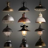 Лофт промышленные подвесные светильники Винтаж RH Эдисон подвесной светильник E27 110 220 В подвесные светильники для домашнего декора Ресторан