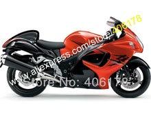 Hot Sales,For SUZUKI Hayabusa GSXR1300 08-13 12 13 GSX-R1300 2008-2013 GSXR 1300 GSX R1300 Orange Fairings (Injection molding)
