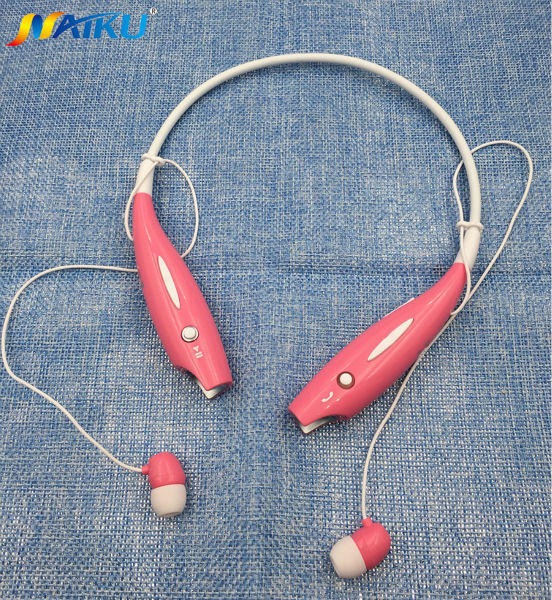 Hot NAIKU-730 Wireless Bluetooth Headset Sports Bluetooth Earphones Headphone with Mic Bass Earphone for Samsung iphone NAIKU730