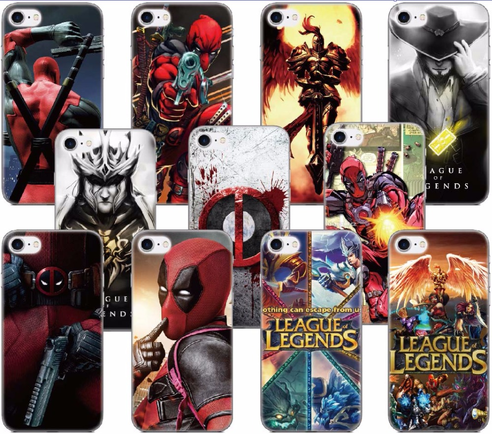 Detail Feedback Questions About Tpu League Of Legends Deadpool Phone