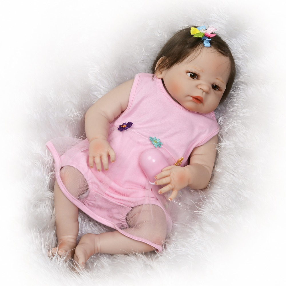 NPKCOLLECTION pre-order new design reborn baby doll full vinyl soft real gentle touch doll Gifts for children on Christmas быков дмитрий львович советская литература расширенный курс