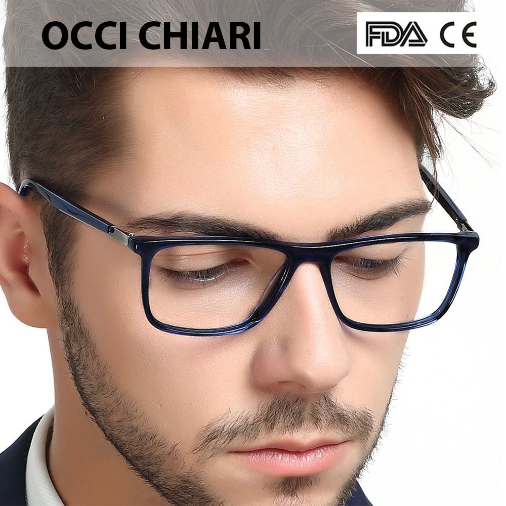 7c41498f0c Товар High Quality Acetate Retro Prescription Medical Optical Eye Frames Men  Hand Made Glasses Frame Male black OCCI CHIARI W-CANO -